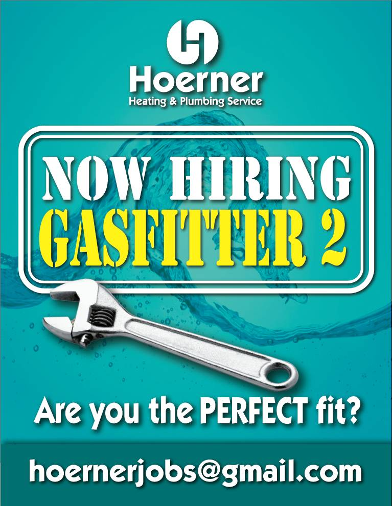 Hiring Gas Fitter