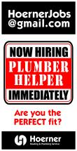 Hiring Plumber Helper