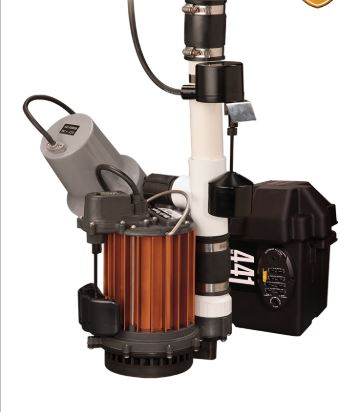 sump pump combo system